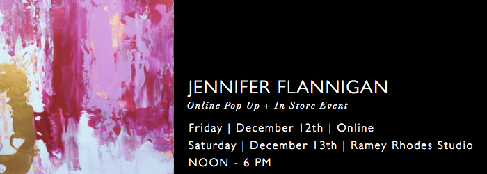 Jennifer Flannigan Pop Up